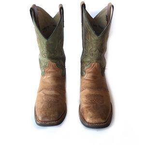 Double-H Men's Wide Square Toe Western Boots
